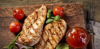 kurczak grillowany z warzywami