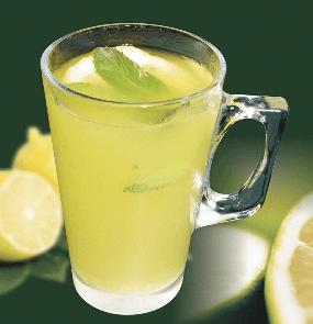 woda z cytryną i pieprzem