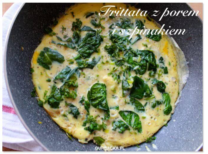 Frittata czyli królewskie śniadanie w 10 minut (1 kawałek ma tylko 120 kcal)