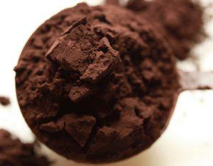surowe kakao koktajl