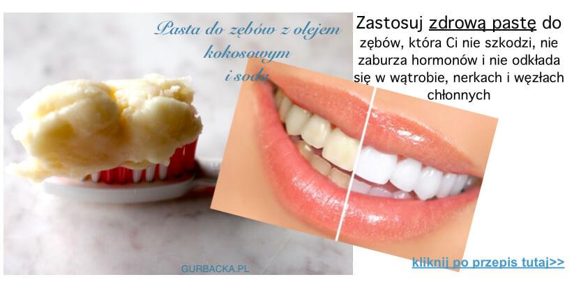 pasta do zębów kokos