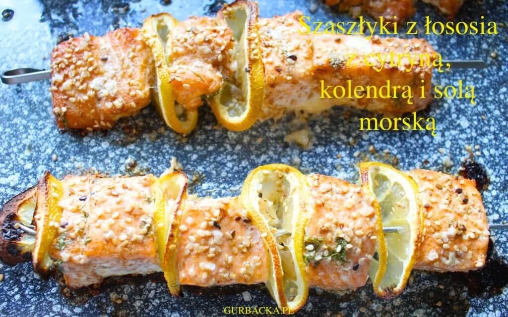 szaszłyki z łososia