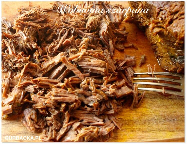 wolowina szarpana wolno gotowana Kasia Gurbacka
