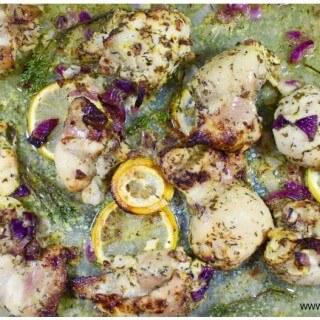 pieczony kurczak w cytrynowej marynaice Kasia Gurbacka