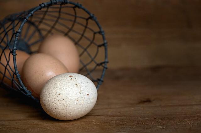 jajka w lodówce