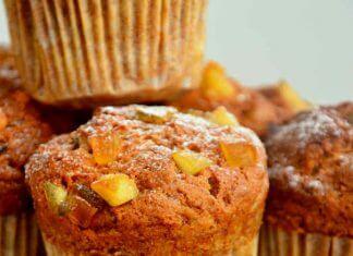 muffinki z dynią