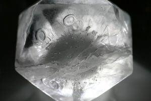kuracja kostkami lodu