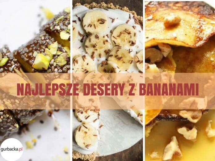 desery z bananami
