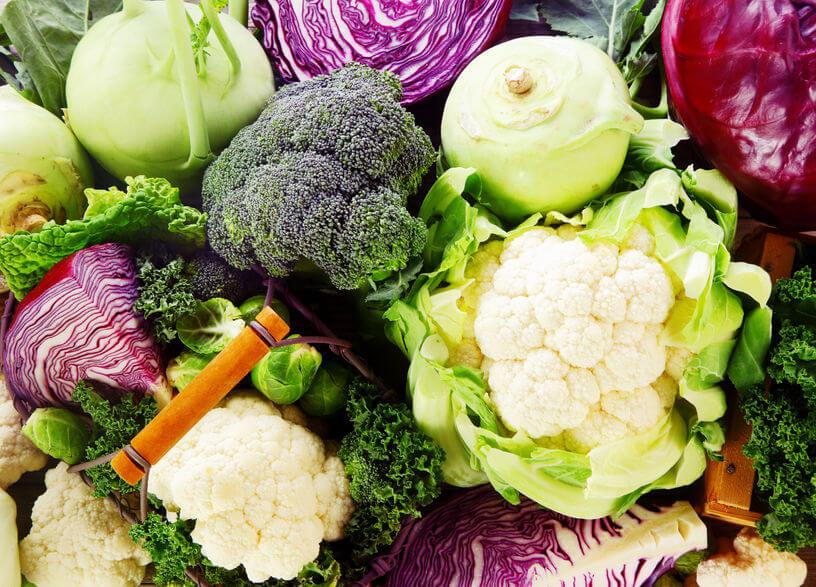 warzywa kapustne wzdęcia brzucha