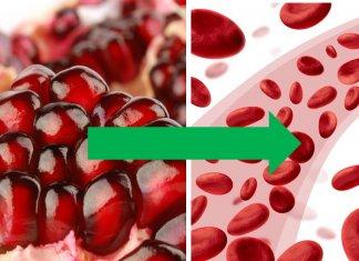 granat na niski poziom hemoglobiny