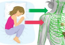 spanie na lewym boku dla zdrowia