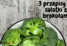 sałatki z brokułów