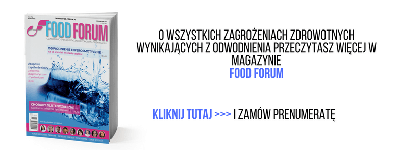 ODWODNIENIE ORGANIZMU FOOD FORUM