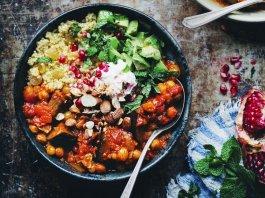 warzywne leczo z kaszą jaglaną